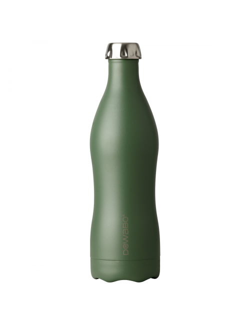 Dowabo Thermosflasche Doppelwand-Earth Collection Olive-750-ml-Grün