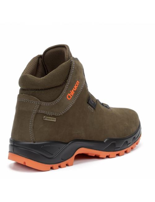 Chiruca walking shoes Cares Boa Hi-Vis-GoreTex-Vibram-Brown