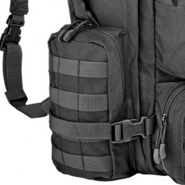 Defcon 5 Extreme Modular Backpack 60 litre - Black