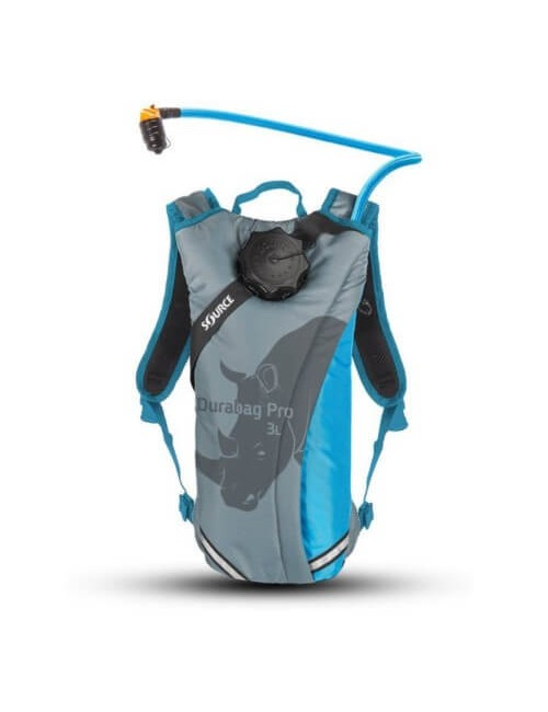 Source hydration pack Durabag 3 liter - Grijs-Licht Blauw